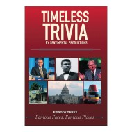 Timeless Trivia DVD - Episode 3 - Famous Faces, Famous Places