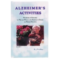 Alzheimer's Activities Book