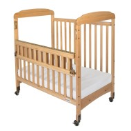Serenity™ SafeReach™ Compact Crib with Clear-View Ends