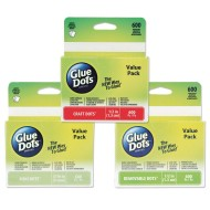 Glue Dots® Value Pack,  (Pack of 600)