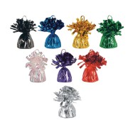 Metallic Balloon Weights,  (Pack of 12)