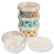 LockTight Storage Containers, Medium 6oz.
