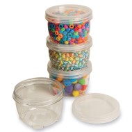 LockTight Storage Containers, Large 8oz.