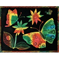 Multicolor Scratch-Art® Paper, 8-1/2