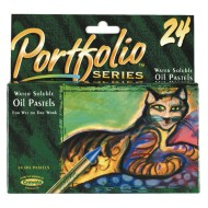 Portfolio® Series Water-Soluble Oil Pastels