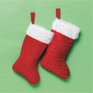 Large Plush Stocking, 16