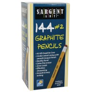 No. 2 Pencils with Eraser (Pack of 144)