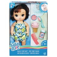 Baby Alive® Magical Scoops Baby Doll, Brunette