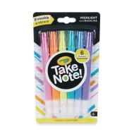 Crayola® Take Note!™ Erasable Highlighters
