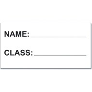 Pack-N-Read® Book Bags Replacement Name Cards