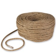 "Jute Craft Rope 1/4"" – 200' Roll"
