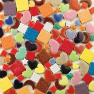 Assorted Porcelain Tile Shapes, 10-lb.