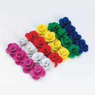 3-D Foam Rose Flowers