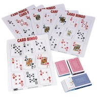Playing Card Bingo Game