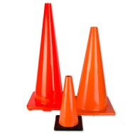 Large Orange Cones,