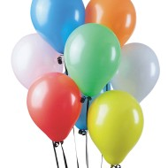 Standard Color Latex Balloon Assortment, 11
