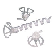 Cup N' Ribbon Balloon Fastener (Pack of 100)