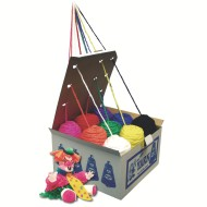 Roving Yarn Dispenser Box