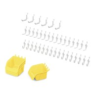 Jonti Craft® Pegboard Hooks & Bins Set