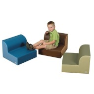 Children's Factory® Cozy Woodland Library Trio Seating Set (Set of 3)
