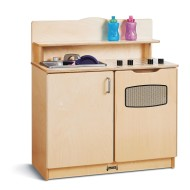 Jonti Craft® Baltic Birch Play Kitchen Activity Center