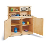 Jonti-Craft® Baltic Birch 4-in-1 Chef's Play Kitchen