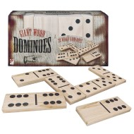 Jumbo Wood Dominoes