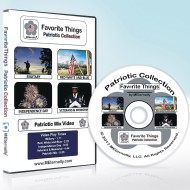 Favorite Things Patriotic DVD With Activity Card Set