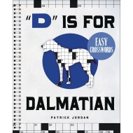 Dalmatian Easy Crossword Puzzle Book ( of 1)
