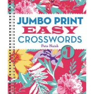 Jumbo Print Easy Crosswords Book 1