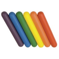 Spectrum™ Foam Batons (Set of 6)