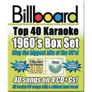 Party Tyme Karaoke CD+G Billboards 60's Box Set