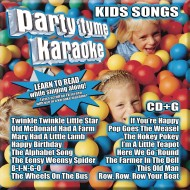 Party Tyme Karaoke CD+G Kids' Songs