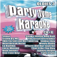 Party Tyme Karaoke CD+G Oldies 3