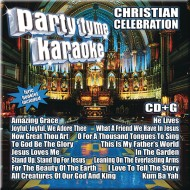 Party Tyme Karaoke CD+G Christian Celebration