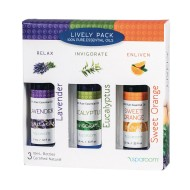 Essential Oil Sensory Lively Pack