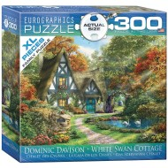 White Swan Cottage Puzzle, 300 Pieces