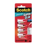 Scotch® Super Glue, Individual Application