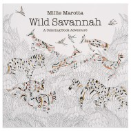 Wild Savannah Adult Coloring Book