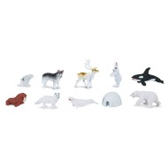 Arctic Animals Figures (Pack of 10)