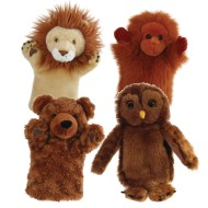 Wild Animals Puppet Set