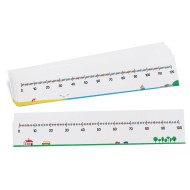 Write-On/Wipe-Off Number Lines