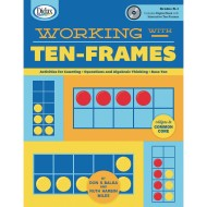Working With Ten Frames Book