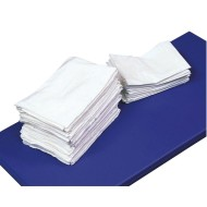 "White Pocket Style Fitted Nap Mat Sheet, 24"" x 48"""