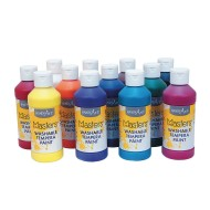 Handy Art® Little Masters® Washable Tempera, 8 oz. (Set of 12)
