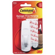 3M Command™ Adhesive Utility Hook, Large