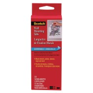 Scotch® Wall Mounting Tabs, 1/2
