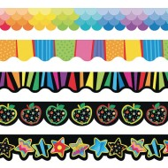 Bulletin Board Trim Variety Pack