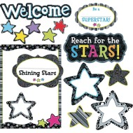 Welcome Stars Bulletin Board Set