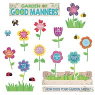 A Garden of Positive Behavior Bulletin Board Set